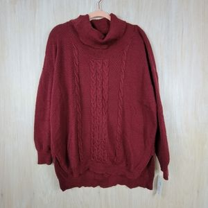 NWT Absolutely Stitch Fix Uri Cowl Neck Pullover
